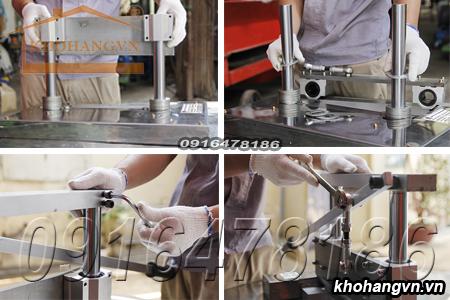 Các bước tháo lắp để bảo dưỡng và làm vệ sinh dụng cụ