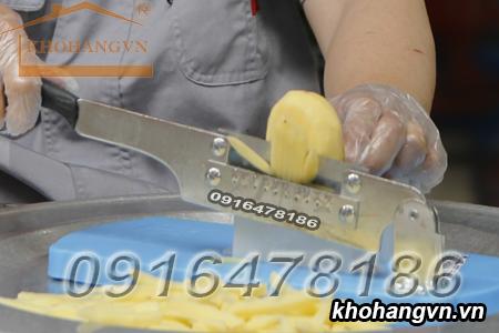 máy cắt khoai tây chiên