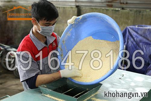 Máy trộn nguyên liệu 3a công suất lớn