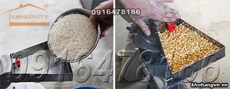 Một số nguyên liệu đầu vào của Máy xay bột mịn 3A LM2.2Kw