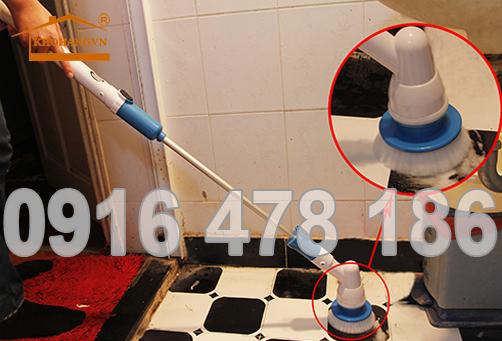 Bàn chải điện vệ sinh nhà 3A